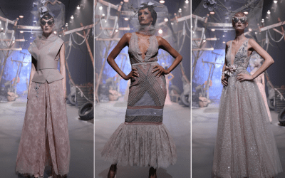Amato Couture Closes Fashion Forward Dubai 2017 In Signature Style, Ending The Show On A High Note