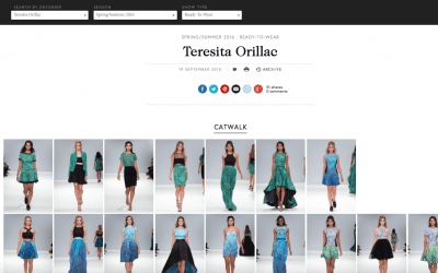 Introducing Teresita Orillac at London Fashion Week and The Middle East