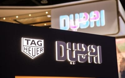 TAG Heuer Announces Its Partnership With Dubai At Arabian Travel Market 2017